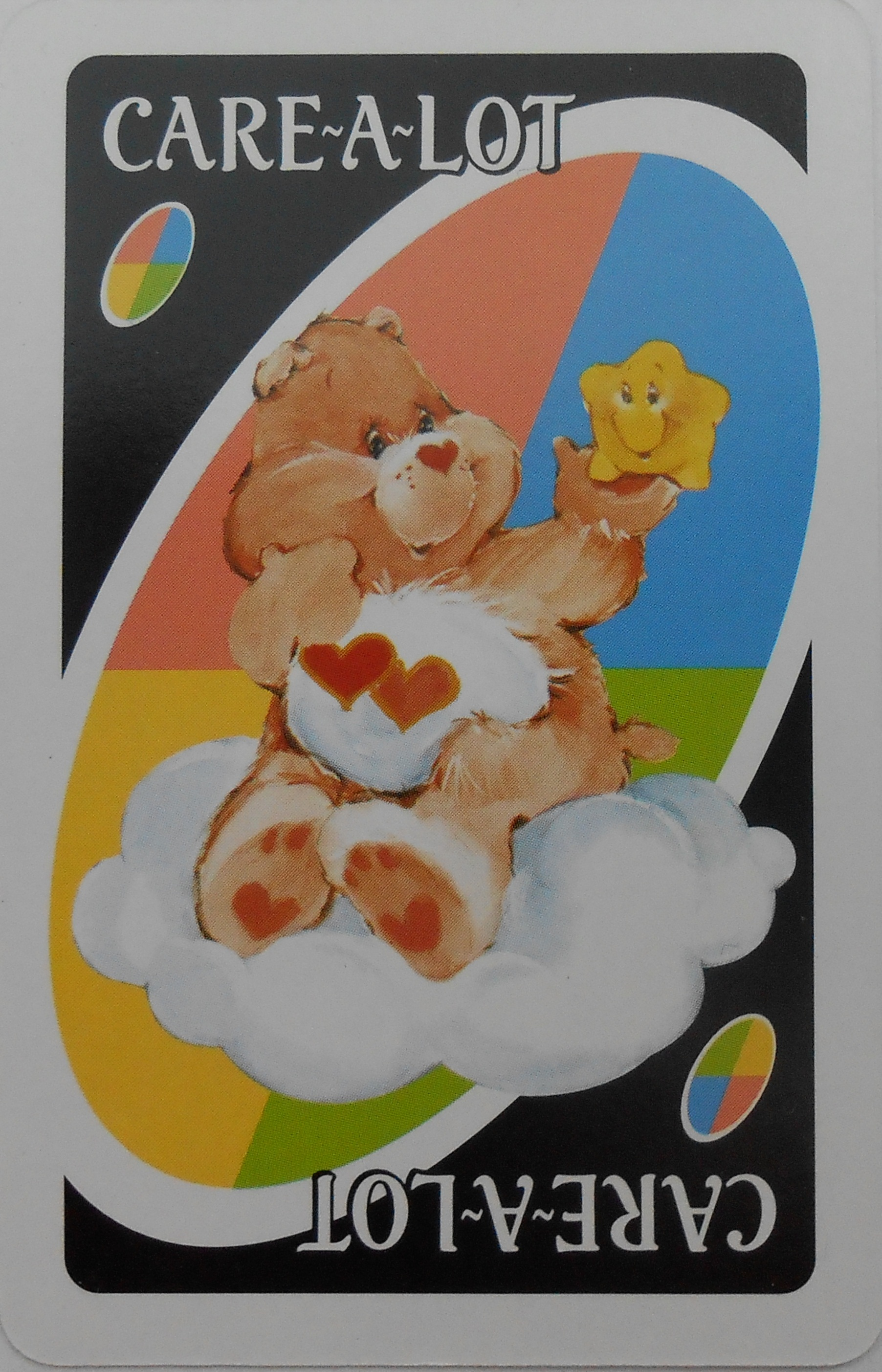 Care Bears Uno (Care-A-Lot Card)