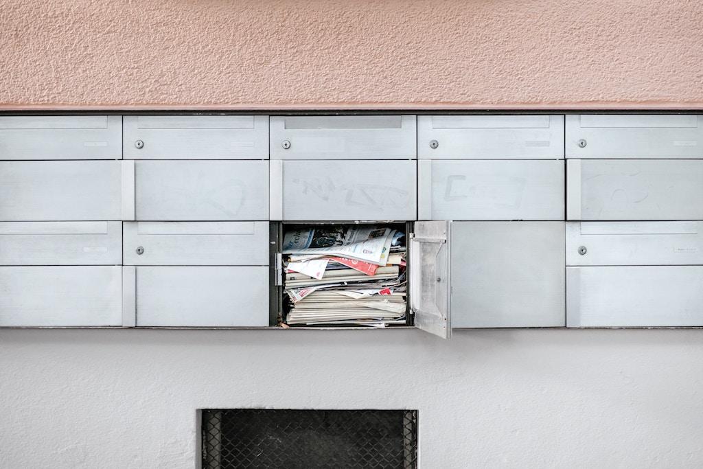 Photo by Samuel Zeller on Unsplash - Mailbox