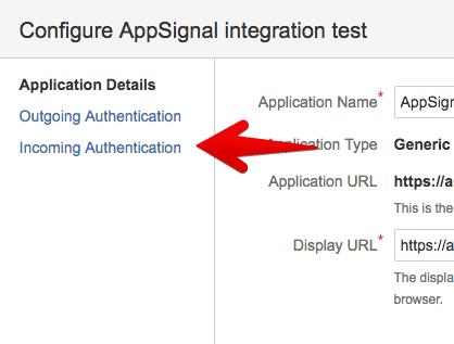 OAuth navigation
