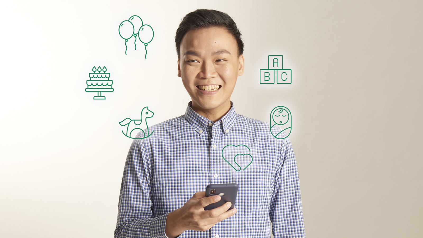 Mr Hoon Ding Yi, a software engineer, worked on the Moments of Life (Families) app