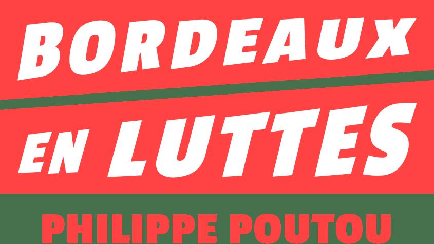 Bordeaux en luttes - logo red