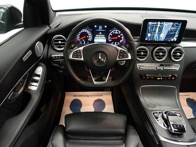 Mercedes-Benz GLC 43 AMG 4MATIC 368pk Night Edition 9G- Pano, leer, Burmester, Full afbeelding 22