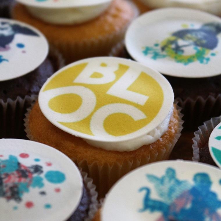 BLOC cup cakes