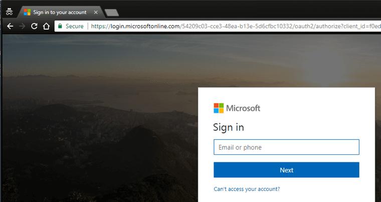 Incognito URL