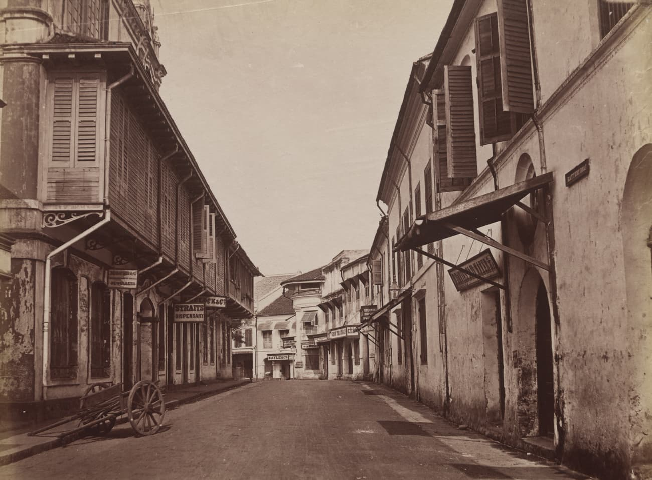 Battery Road, 1880s