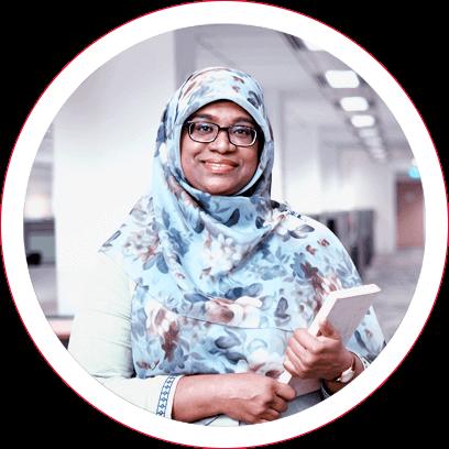 Muntaj Begum, Senior Executive, Payroll and Claims