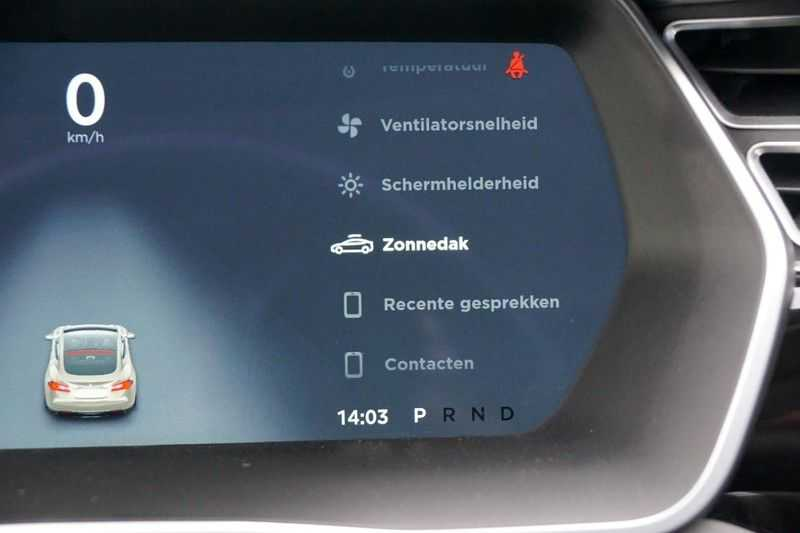 "Tesla Model S 90D Base / 422 PK / Panoramadak / Luchtvering / NL-Auto / 132dkm NAP / 21"" LMV / Leder afbeelding 17"