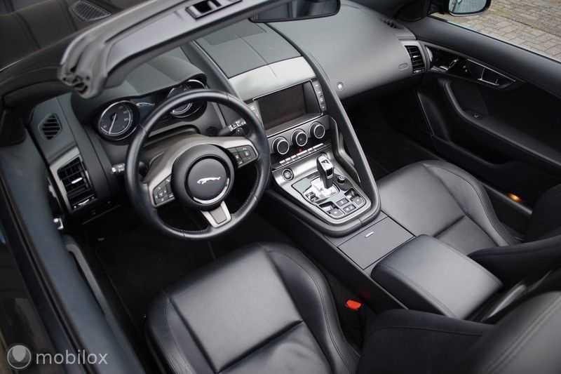 Jaguar F-Type 3.0 V6 Convertible   398 Pk, 500 Nm   Leder   afbeelding 18