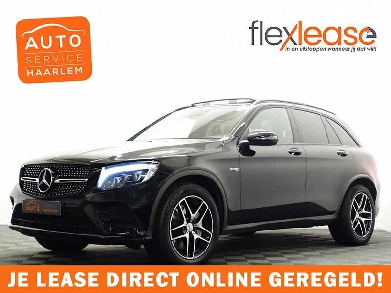 Mercedes-Benz GLC 43 AMG 4MATIC 368pk Night Edition 9G- Pano, leer, Burmester, Full afbeelding 1