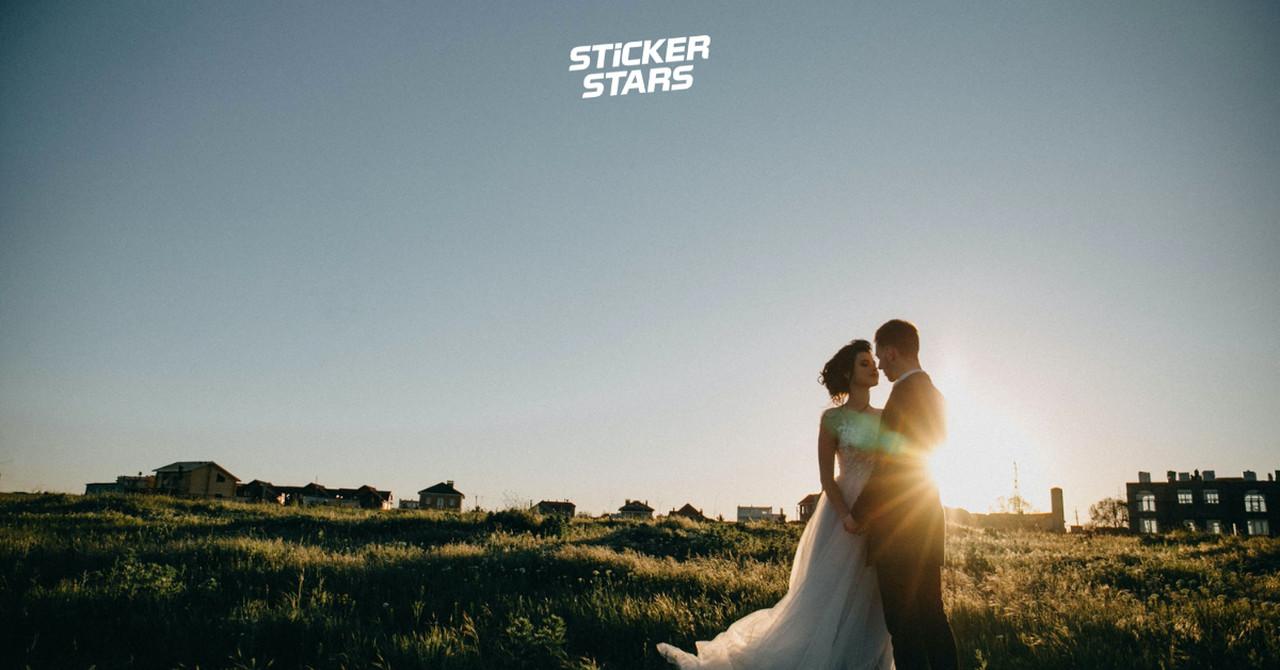 Hochzeitsfotos Ideen: Sonnenuntergang