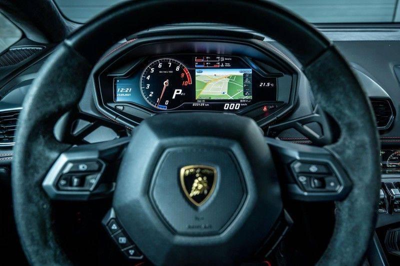 Lamborghini Huracan 5.2 V10 LP610-4, 610 PK, Keramiek, Nose Lift, Camera, Stitching, Rear/Wing, 33DKM, 2015!! afbeelding 5