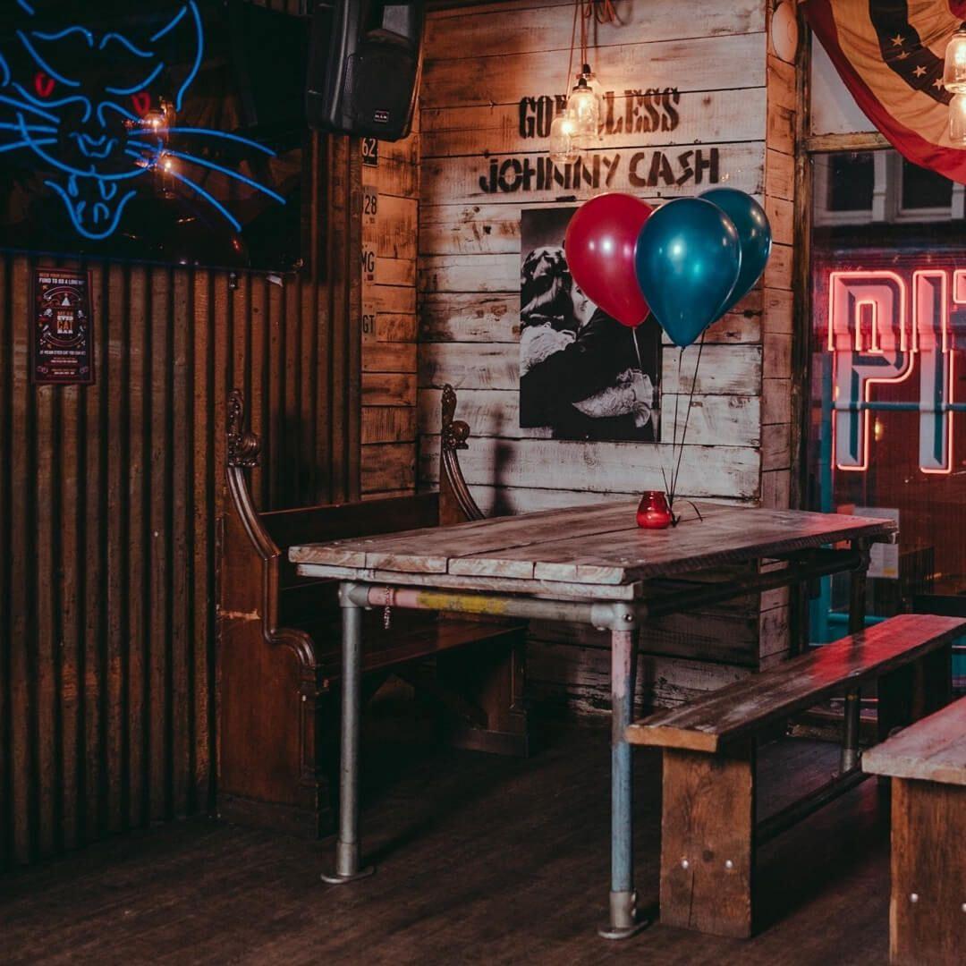 Mean-Eyed Cat Bar Seating
