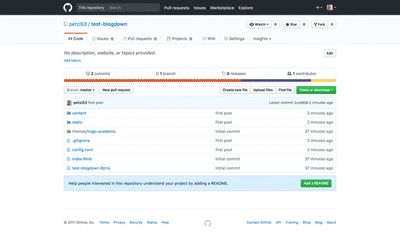 Inspect your repo on GitHub to confirm the procedure.