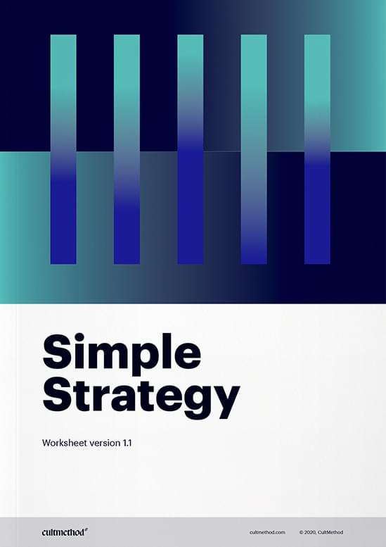 Cover page of Brand Strategy Workbook