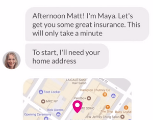 Maya: sophisticated automation for insurance claims and customer service