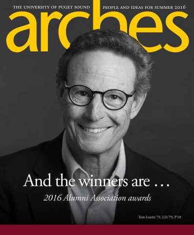 Arches magazine cover
