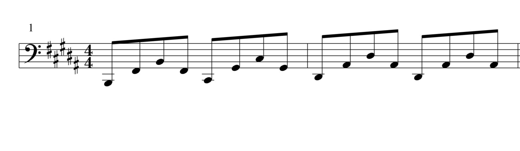 左手パターン2