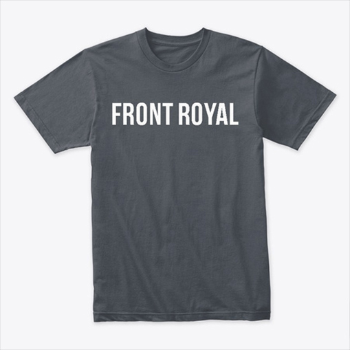 T-shirt with Front Royal logo