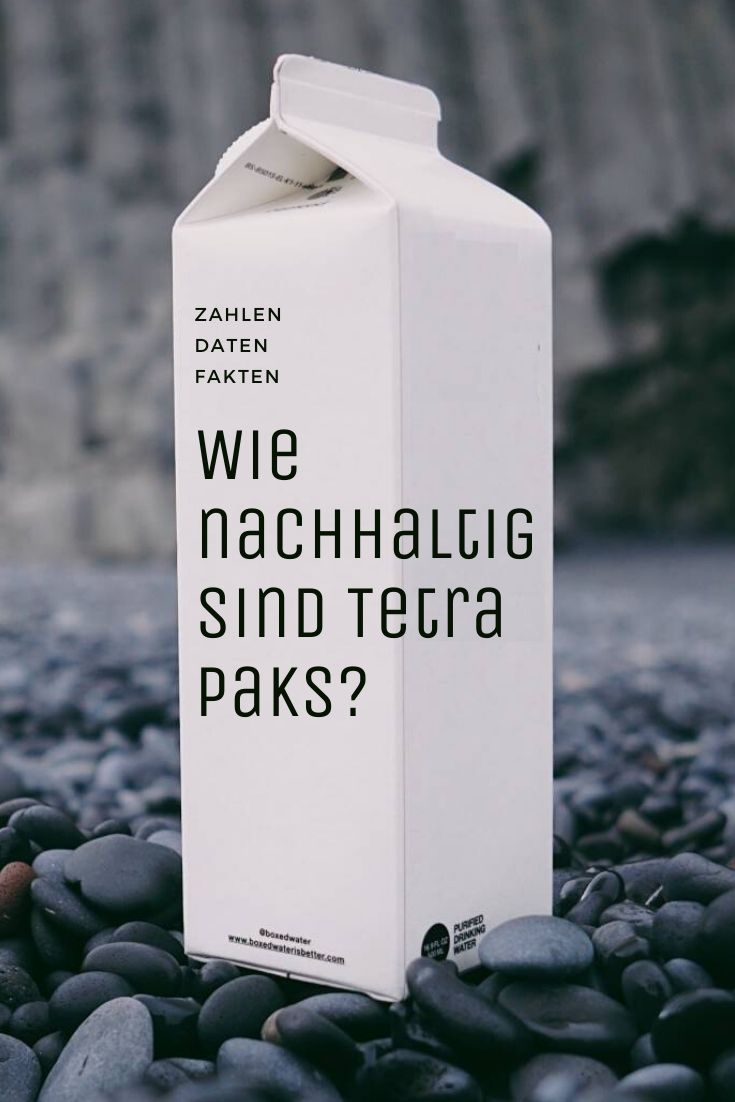 Pinterest Cover zu 'Tetra Pak Recycling: Sind Getränkekartons nachhaltig?'