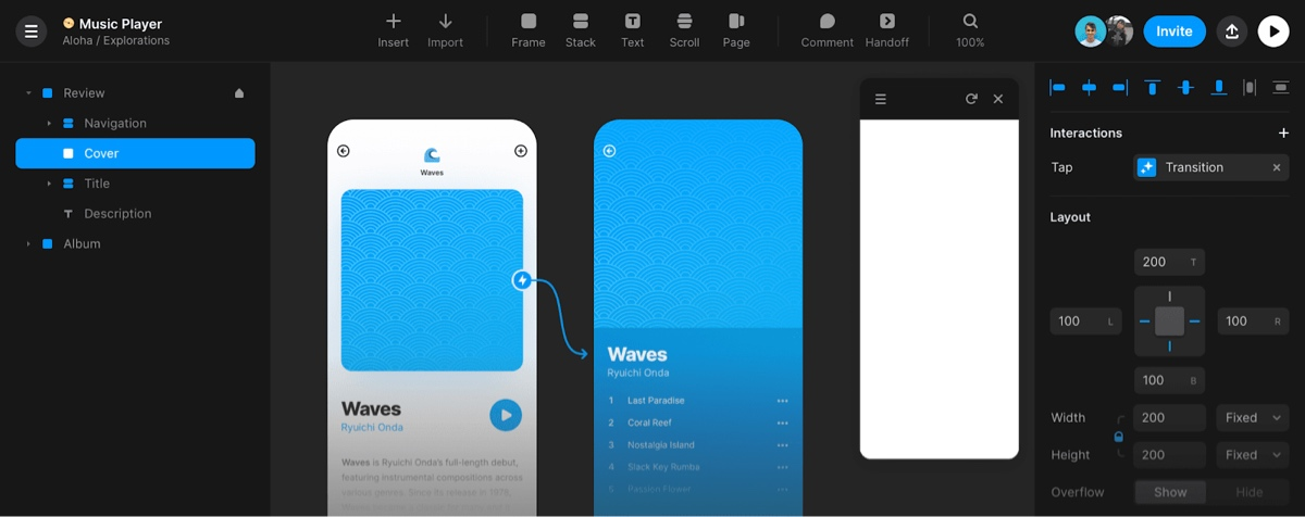 Screengrab within Framer