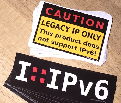 ipv6 stickers