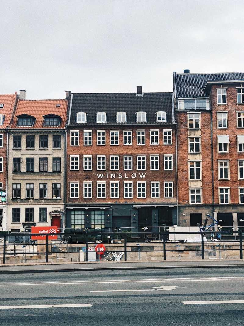 Winslow building in Helsinki, Finland
