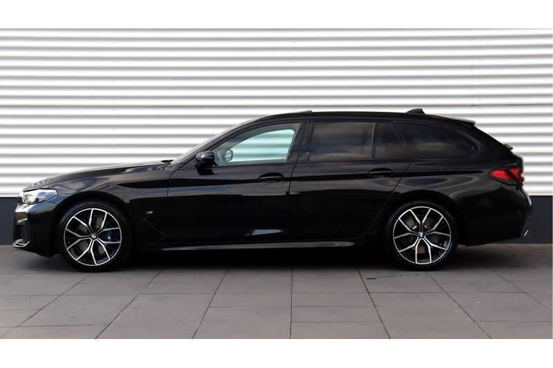 BMW 5 Serie Touring 530i High Executive M Sport Driving Assistant Prof, Head-Up Display, DAB, Memory afbeelding 11