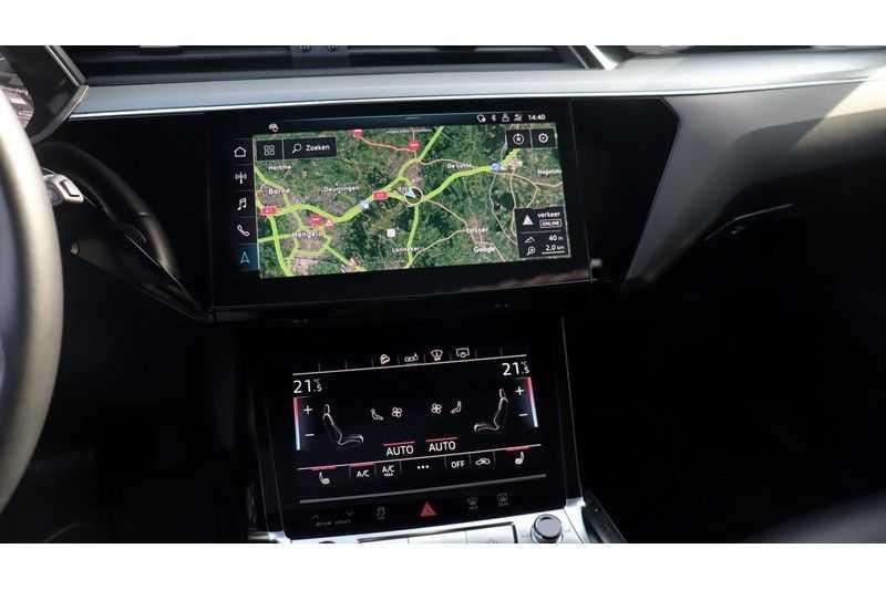 Audi e-tron 55 quattro Advanced Bang & Olufsen, Panoramadak, Head-Up Display, Soft-Close afbeelding 10