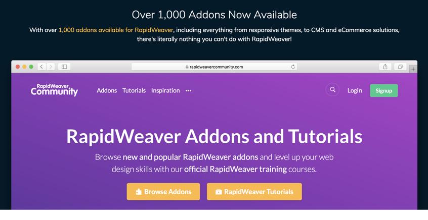 Realmac Rapidweaver community