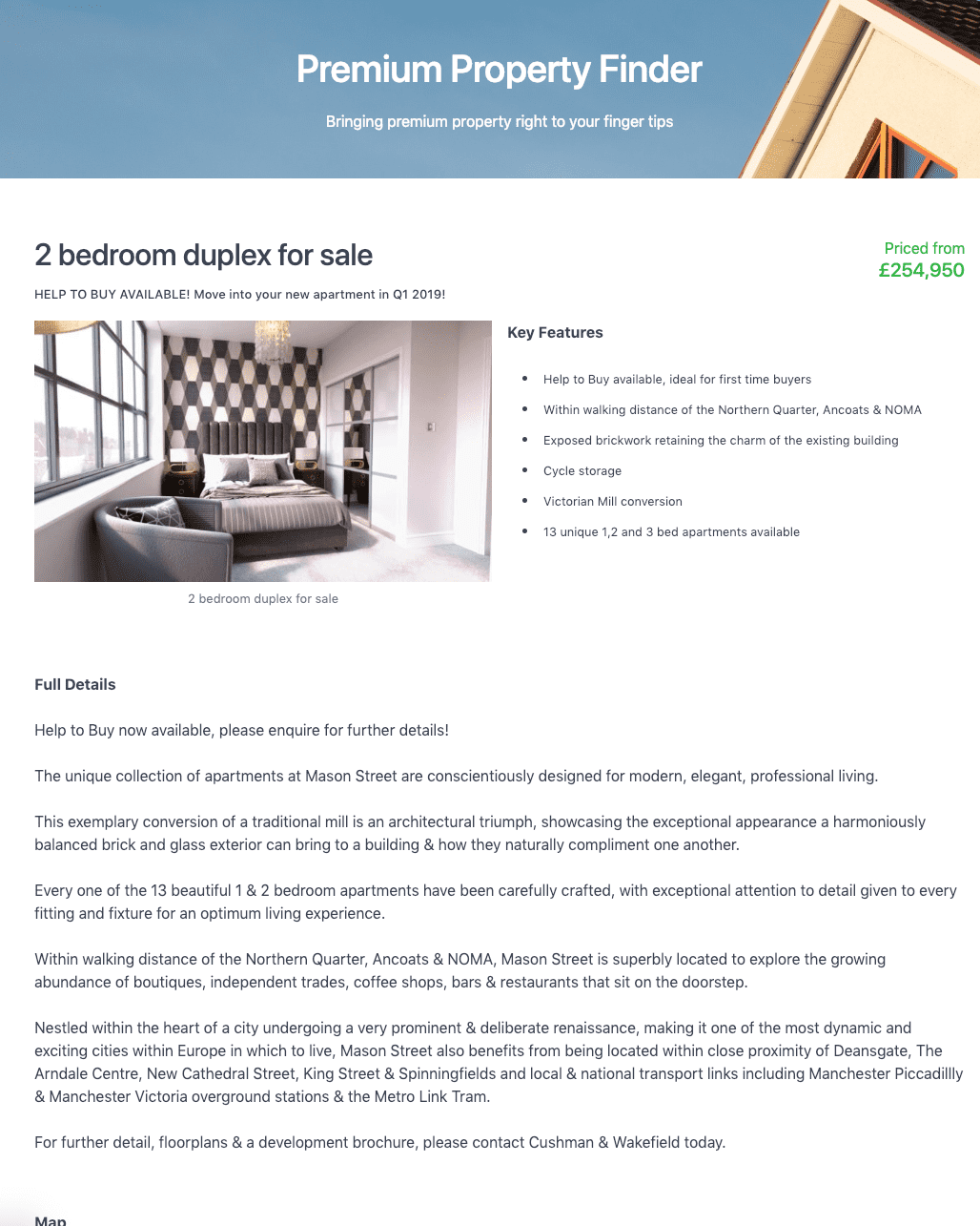 Property Details App - Completed