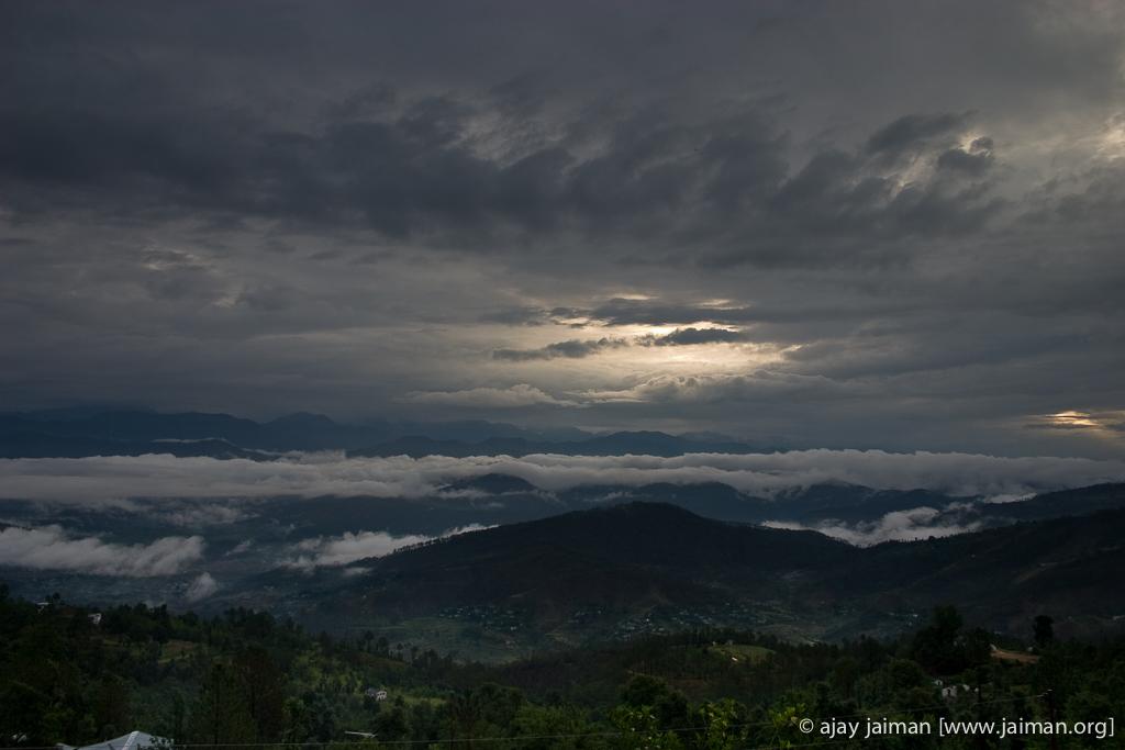 Sunrise in Kausani, Uttrakhand