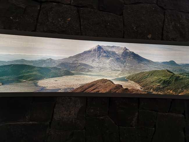 Mont St Helens, illustration