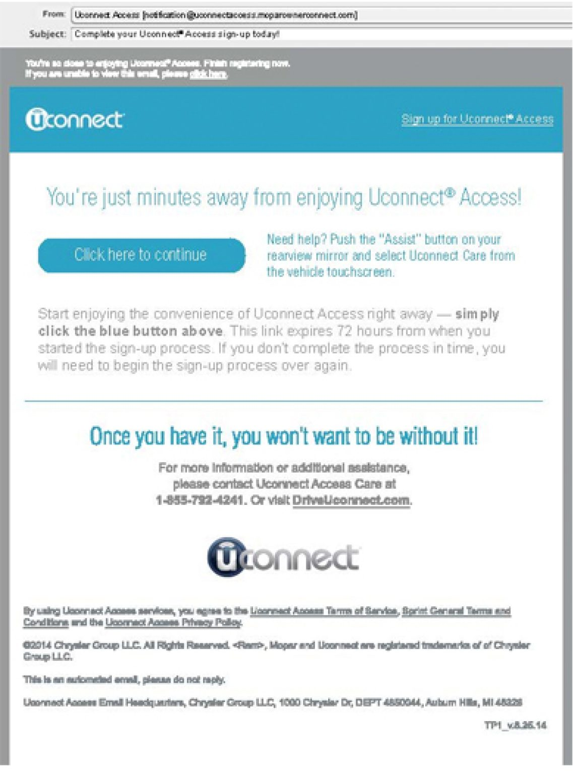 Uconnect Access | connectyourcar