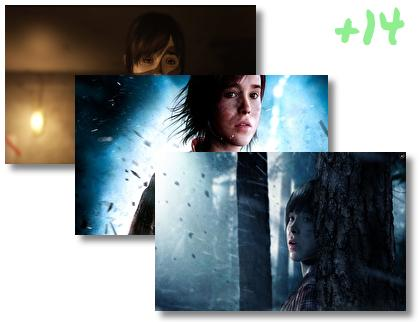 Beyond Two Souls theme pack