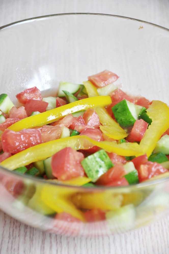 Quick and Easy Israeli Salad