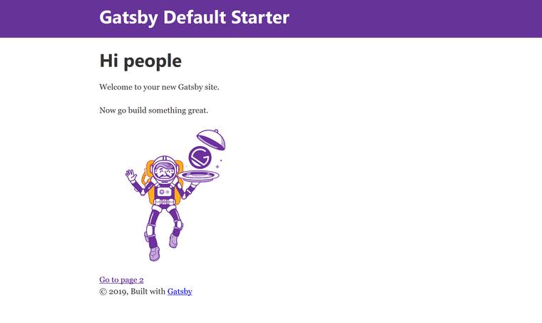 Default Starter