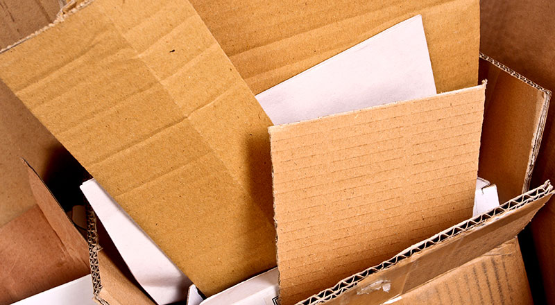Without recovered paper and cardboard, a shortage of cardboard boxes essential for takeaway cartons and medicine packages is looming.