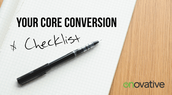 Core Conversion Postcard Template - Checklist