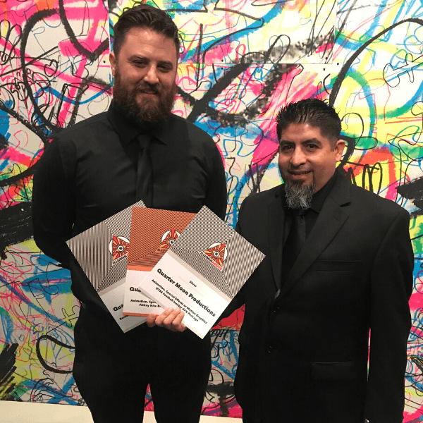 NZ and Rudy Martinez with 3 QMP ADDY awards