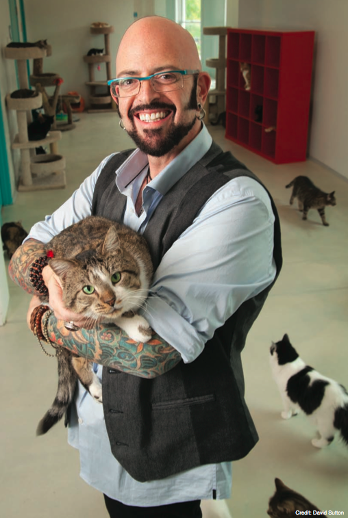 Jackson Galaxy, the Guy Fieri of Cats