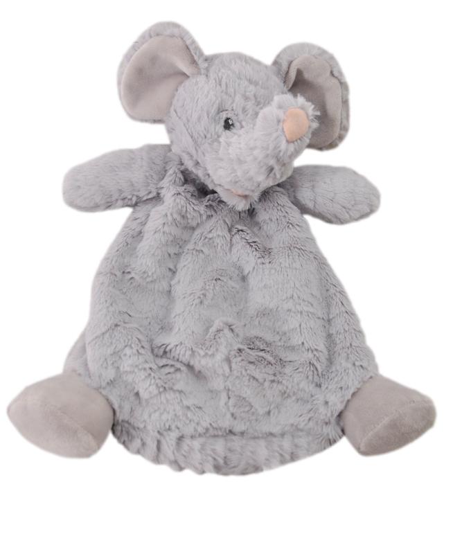 "The Petting Zoo: 12"" Snugglerz Elephant Blanket"