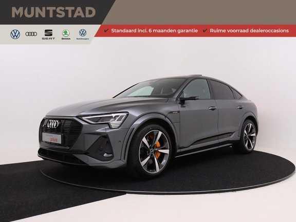 Audi e-tron Sportback S S quattro 503PK | Verlengde fabrieksgarantie | Pano.Dak | S-Line | MMI Navi+ | Matrix LED | Super Sport stoelen |