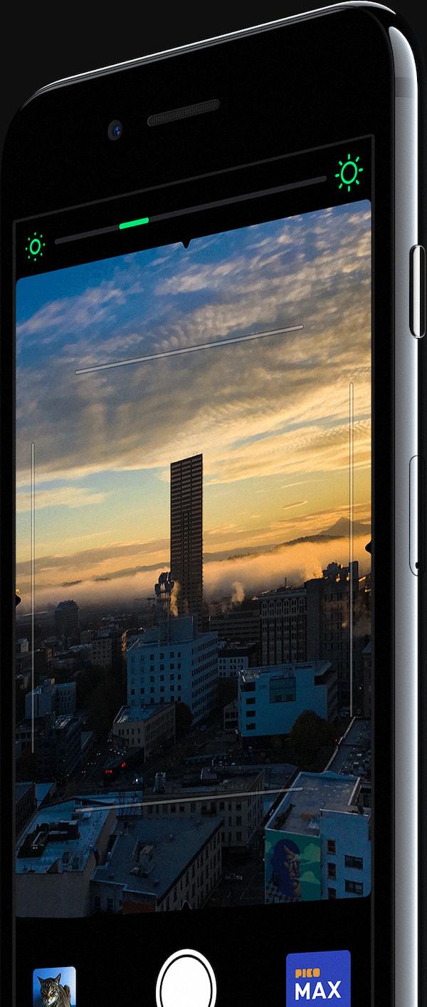 Screenshot of the Pico Cam app.
