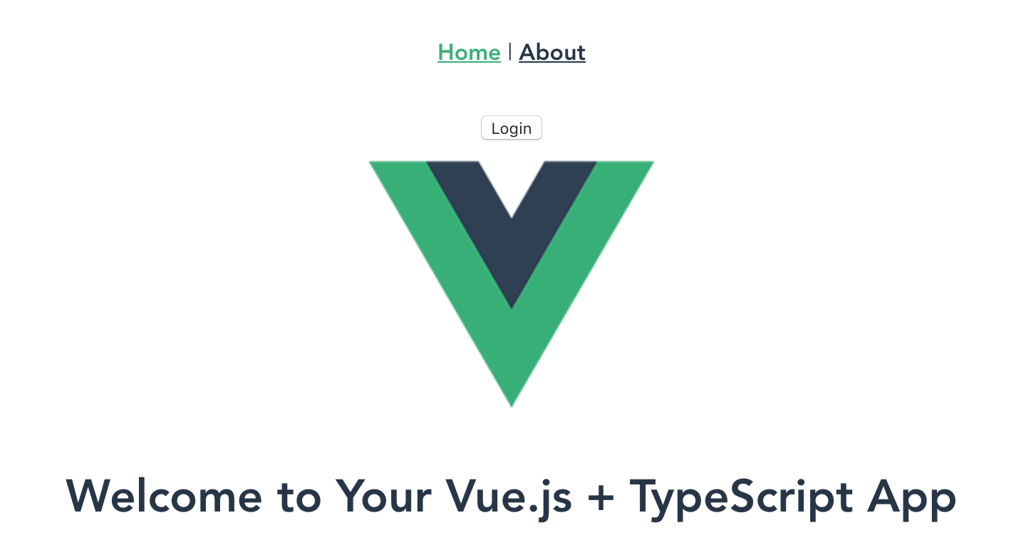 Vue with Authentication