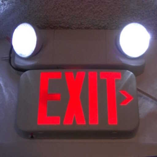 EXIT Sign and Emergency Lighting Inspection