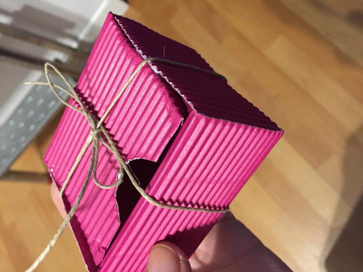 caja carton diy