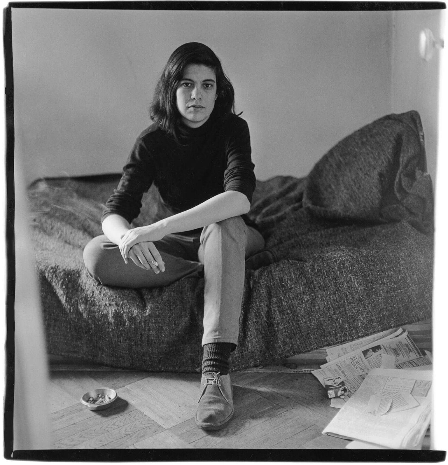 Сьюзен Сонтаг в Нью-Йорке в 1965 году. Фото: Diana Arbus / nytimes.com
