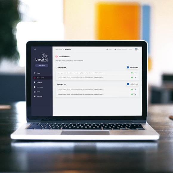 Barcanet Client Portal