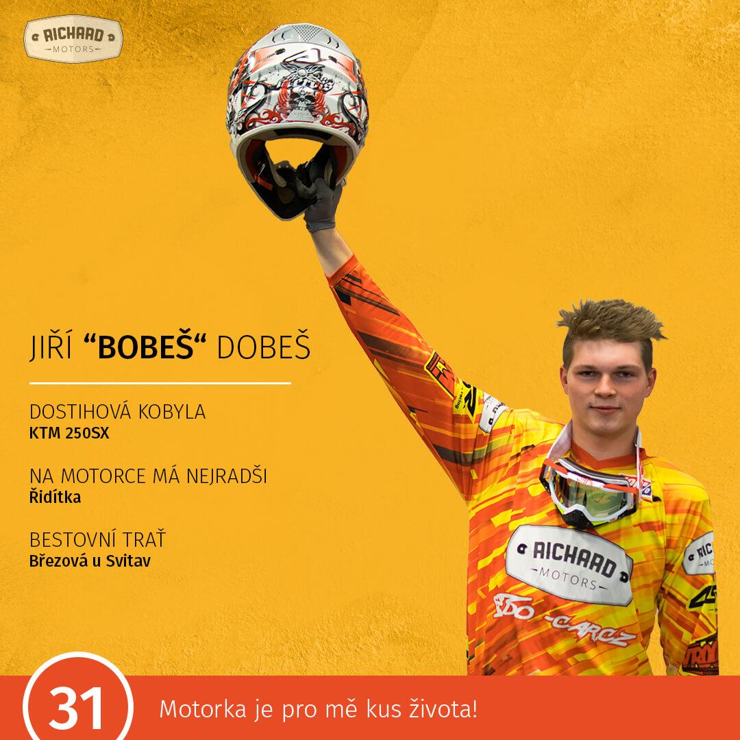 """Jiří """"Bobeš"""" Dobeš"""