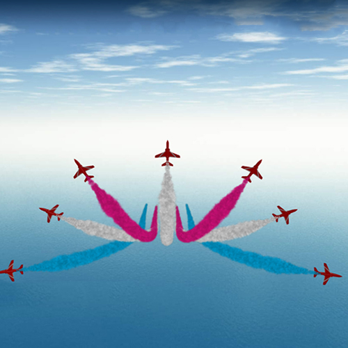 Red Arrows - British Royal Airforce
